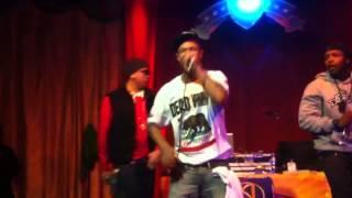 "D-Team live @ club anton Lefty performing ""Gas Dat Nigga"""