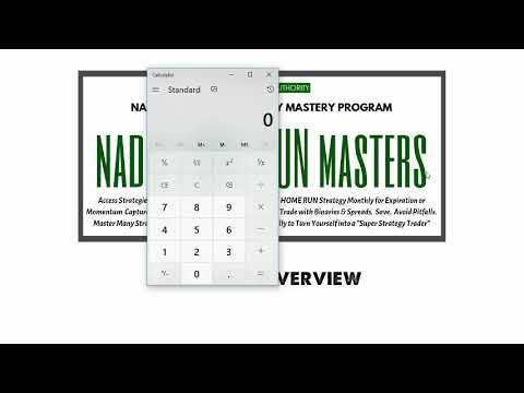 NADEX Home Run MASTERS Program Review
