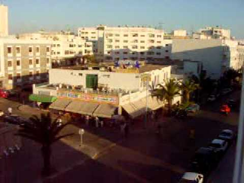 Scene From Our Balcony, Agadir Morocco