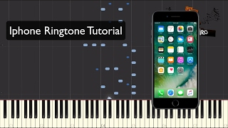 Iphone Ringtone Piano Tutorial