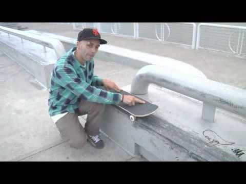 Skateboarding Tricks : Skateboard Backside 50-50 Mistakes