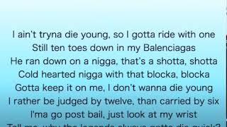 Roddy Ricch - Die Young Lyrics