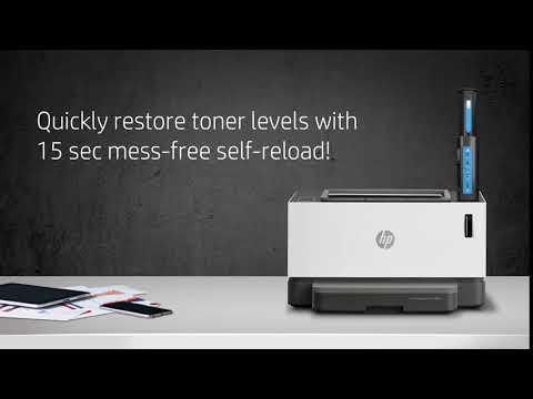 World's first Laser Tank Printer. HP Neverstop Laser.
