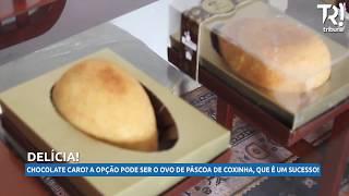 Ovo de Páscoa de coxinha é sucesso em Curitiba
