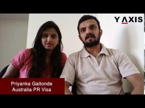 Priyanka Gaitonde Australia PR Visa PC Charan D