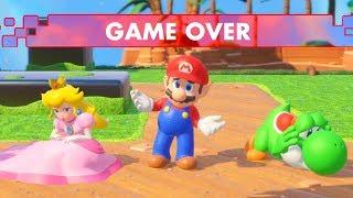 Mario + Rabbids Kingdom Battle - All Game Over Screens