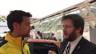 Motor Show 2016 Bologna – Intervista [SOTTOTITOLI ITALIANO] a Joylon Palmer, Renault Formula 1