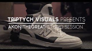 AkoniTheGreat Studio Session