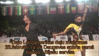 Dejo Latīņamerikas deju zvaigznes