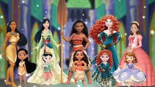 Five Little Baby Princesses Nursery Rhyme