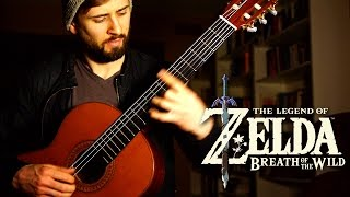 Zelda Breath of the Wild Guitar Cover - Main Theme - Sam Griffin