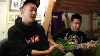 """Chris Brown """"Yeah 3x"""" - Taio Cruz """"Dynamite"""" (MASHUP COVER) - Scott Yoshimoto & Casey Nishizu"""