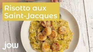 Recette Risotto Saint-Jacques