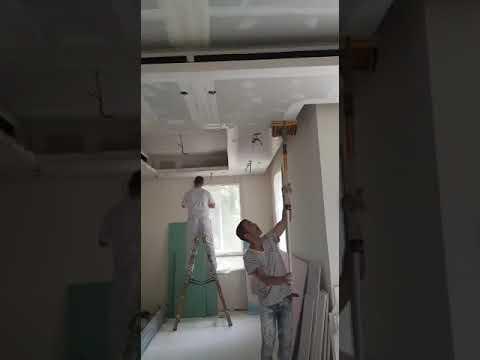 סרטון: עבודות צבע, שפכטל וטיח בשיטת ההתזה