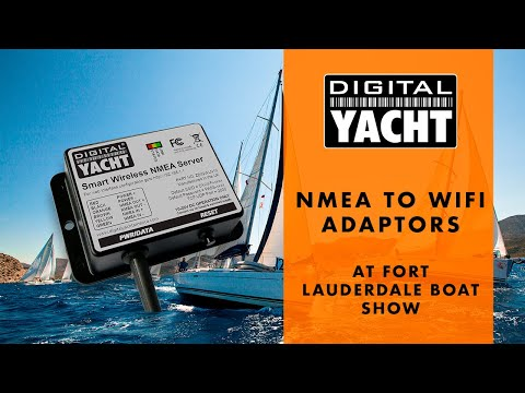 NMEA to WiFi Adaptor - Wireless Navigation Solutions For Tablets & PCs