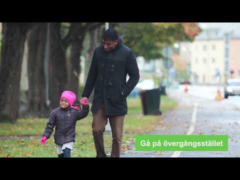 Lätt svenska, film 1. Gående