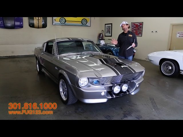 1967 Ford Mustang GT500E Eleanor for sale with test drive, driving sounds, and walk through video
