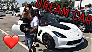 SURPRISING MY HUSBAND WITH HIS DREAM CAR!!!