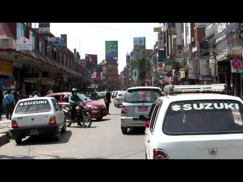 SANY0656.MP4 2011/04/06 To Thamel by Taxi
