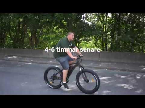 NRAW Black Bear Elcykel - Unboxing och montering