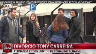 Tony Carreira Separa-se da Mulher com Quem Viveu 29 Anos