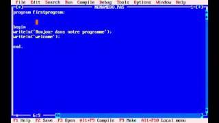 دورة تعلم لغة Pascal الدرس الاول    Didou Designer