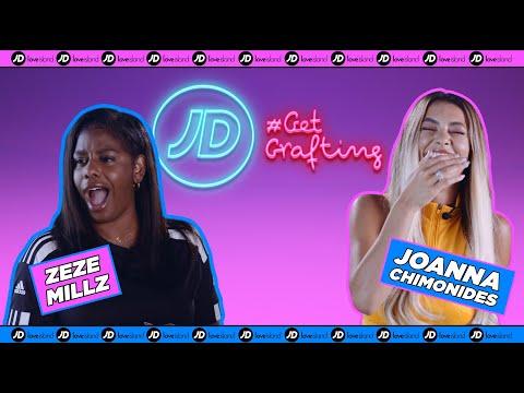 jdsports.co.uk & JD Sports Discount Code video: ZEZE MILLZ VS JOANNA CHIMONIDES: LOVE ISLAND DANCE BATTLE   JD GET GRAFTING