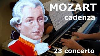 Mozart Concerto no.23 cadenza by Oleg Pereverzev