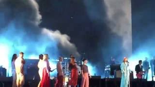 Florence and The Machine live Queen of Peace Hyde Park London 2nd July 2016