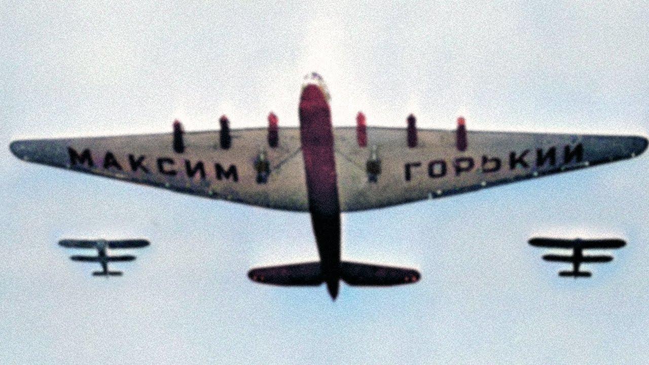 The Soviet 8-Eingine Colossus – Tupolev ANT-20 Maxim Gorky