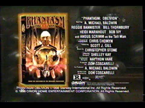 Phantasm IV - Oblivion (1998) Teaser (VHS Capture)