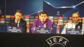 Iker Casillas fala do momento do FC Porto e de Rui Pedro