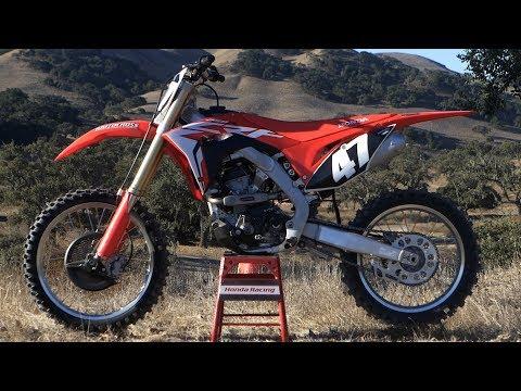 First Ride 2018 Honda CRF250 - Motocross Action Magazine