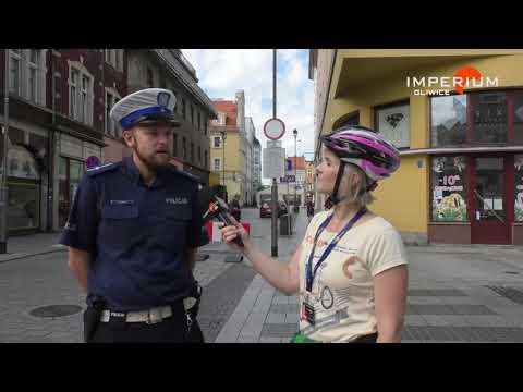 Zmiany na starówce okiem rowerzystki i... policjanta