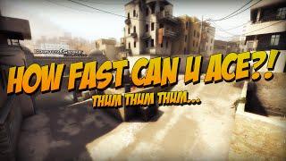 CS:GO - How Fast Can u Ace?
