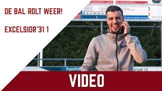 Screenshot van video De bal rolt weer! Het eerste elftal stond na 9 weken weer met elkaar op het veld!