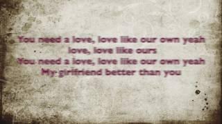 Estelle ft. Tarrus Riley-Love Like Ours (Lyrics )