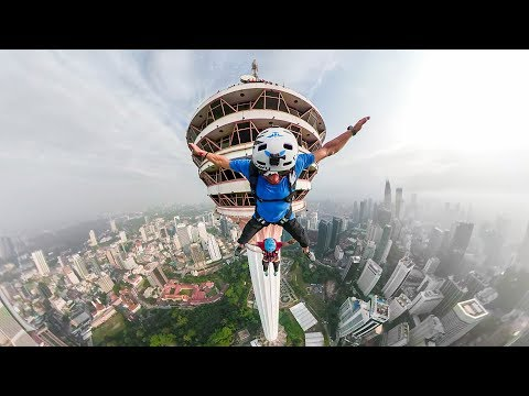 GoPro: BASE Jumping the World's 7th Tallest Tower with Marshall Miller