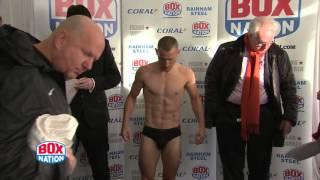 Ryan Walsh v Darren Traynor Weigh-In
