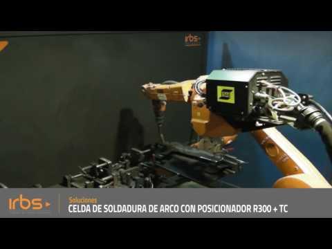 IRBS - Doble celda robotizada de soldadura de arco con posicionador R300