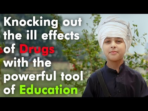 Knocking out the ill effects of Drugs with the powerful tool of Education- Akal Academy, Chogawan