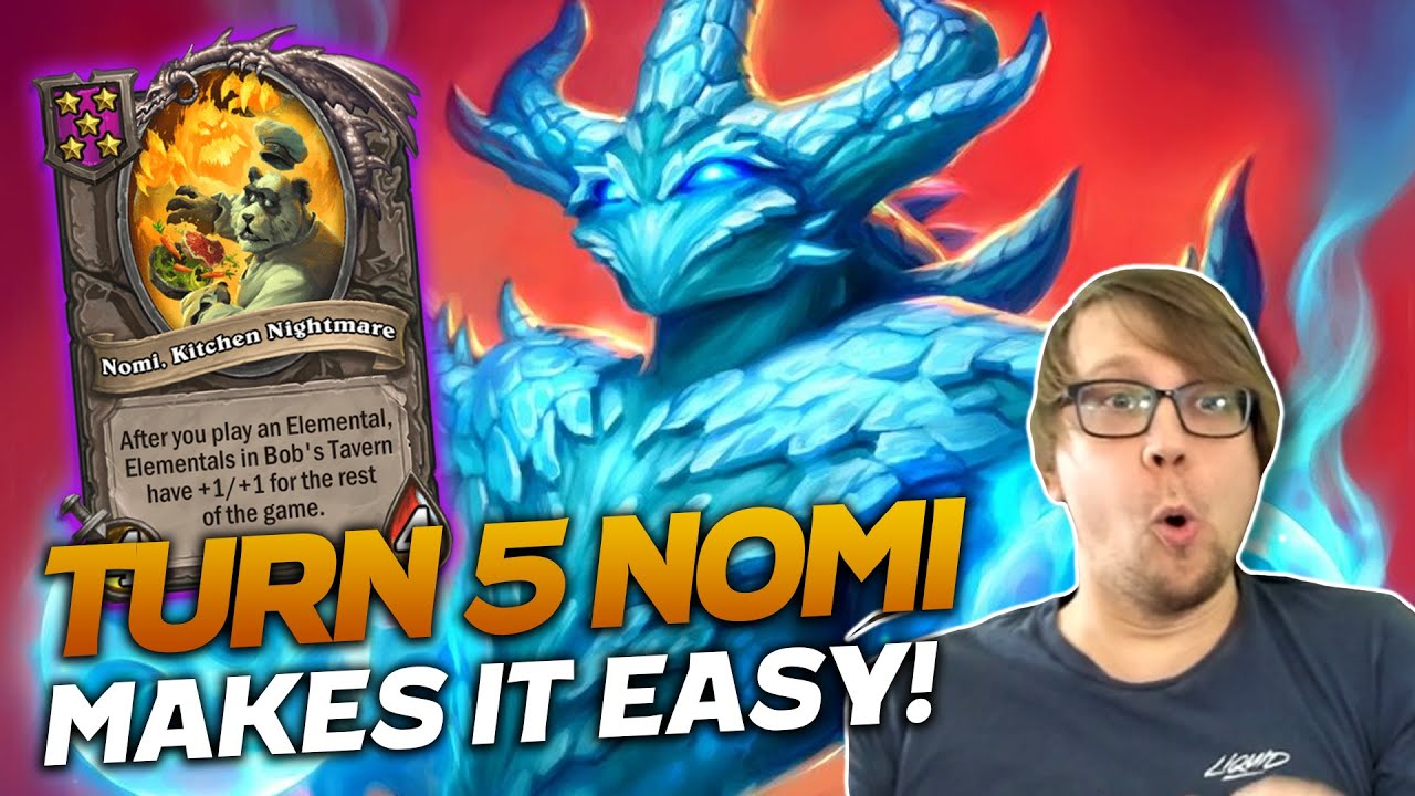Savjz - Turn 5 Nomi Makes It Easy! GG Lobby !| Hearthstone Battlegrounds | Savjz