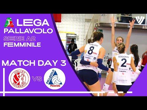 LIVE 🔴 Soverato vs. Pinerolo - Women's Serie A2 | 2021