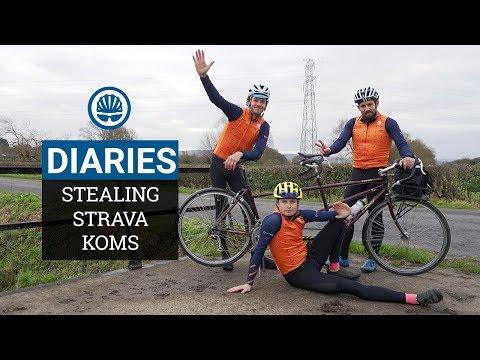 """Can We Steal a Strava KOM on a Tandem"""" - BikeRadar Diaries #3"""