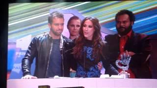 """Video Malu y Pablo Alboran,recogiendo Premio 40 Principales """"Vuelvo a verte"""""""