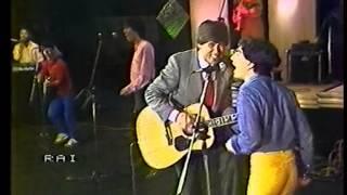 Giampaolo Conchedda con  Gianni Morandi live in Moska