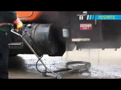 Mosmatic High Lift Undercarriage Cleaner - 21in. Dia., 4000 PSI, 13.0 GPM, Model# TUW