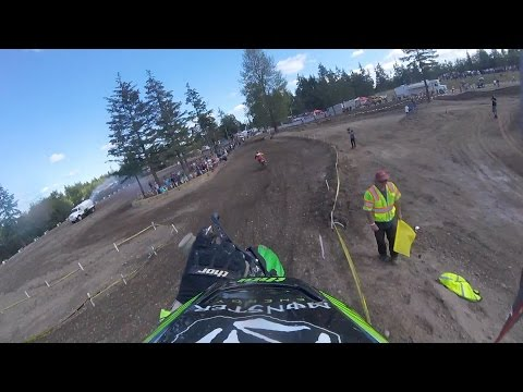 Ryan Villopoto Back Behind The Gate
