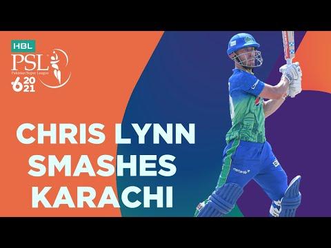 Chris Lynn Smashes Karachi | Multan Sultans vs Karachi Kings | Match 9 | HBL PSL 6 | MG2T