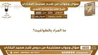 3253 - 4600 ما المراد بالطواغيت؟ ابن عثيمين